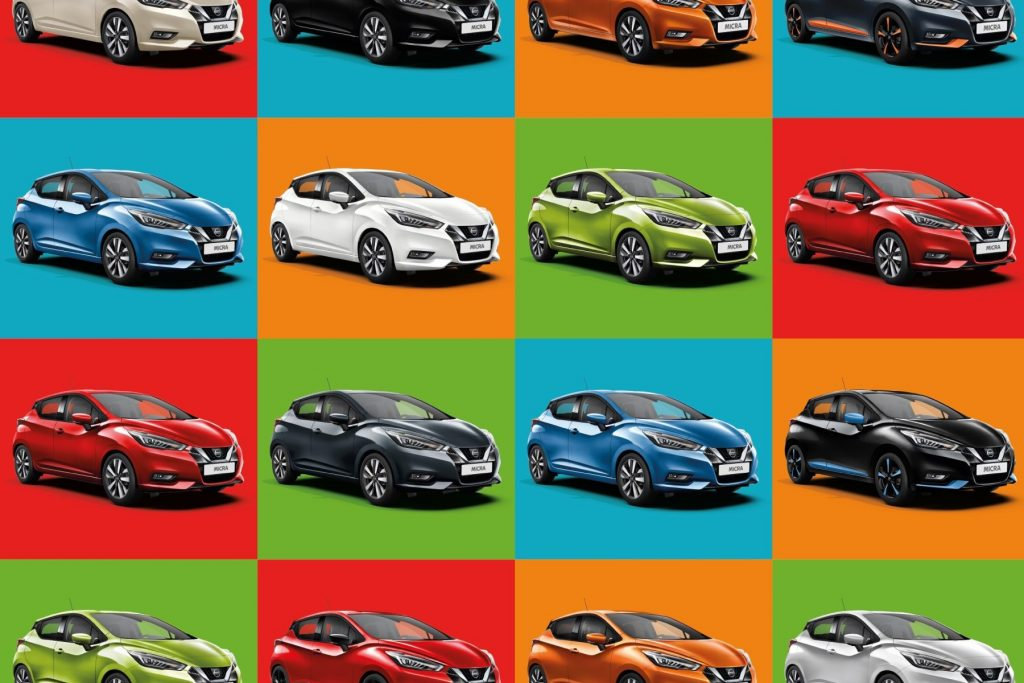 Nissan Micra Psycolourgy