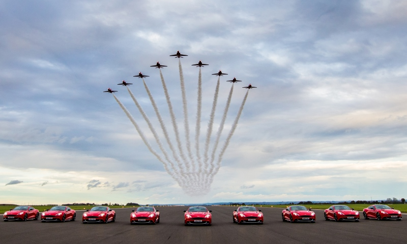 Aston Martin Vanquish Red Arrows
