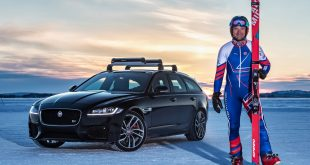 Graham Bell and the Jaguar XF Sportbrake