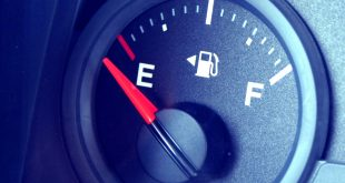 Fuel gauge - empty tank