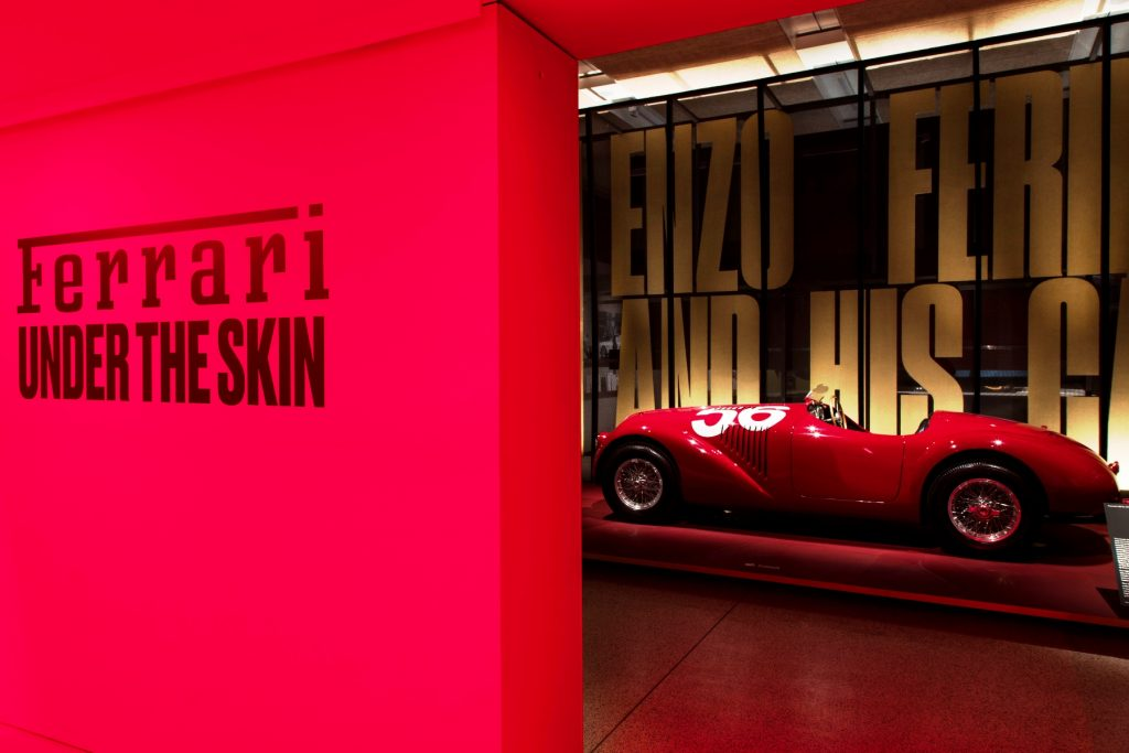 Ferrari exhibition at London's Design Museum