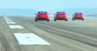 Kia Stinger Newquay runway