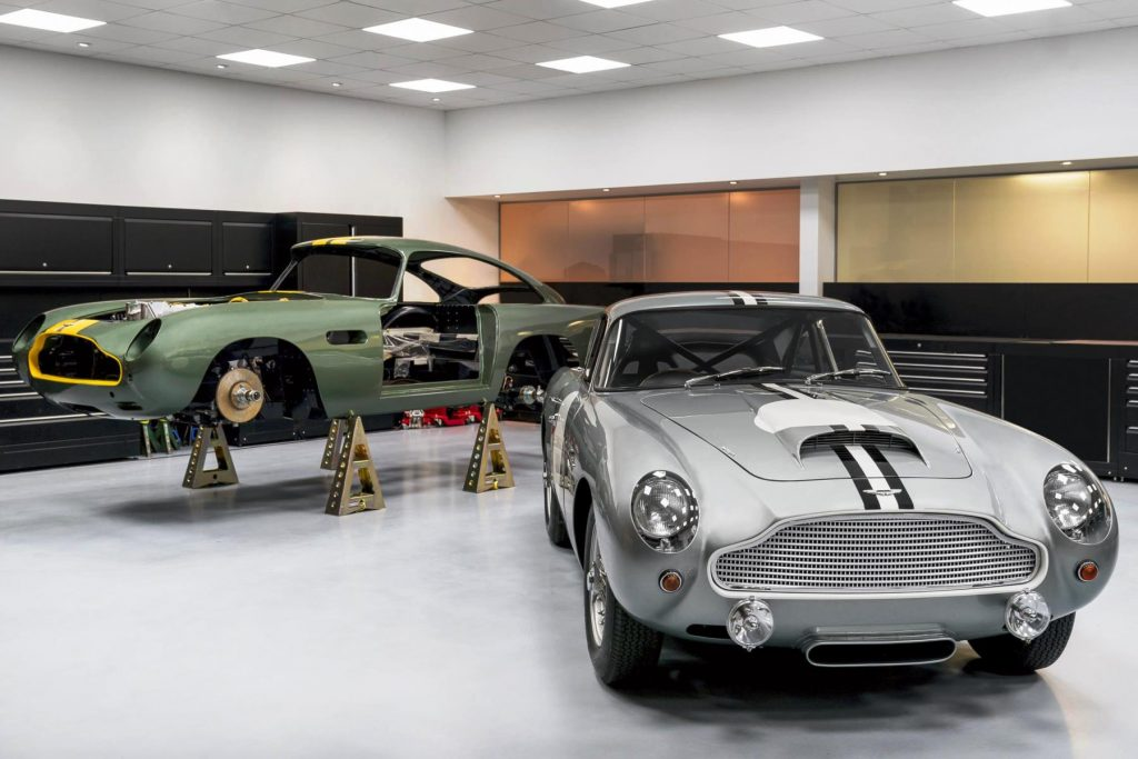 Aston Martin DB4 GT Continuation at Newport Pagnell