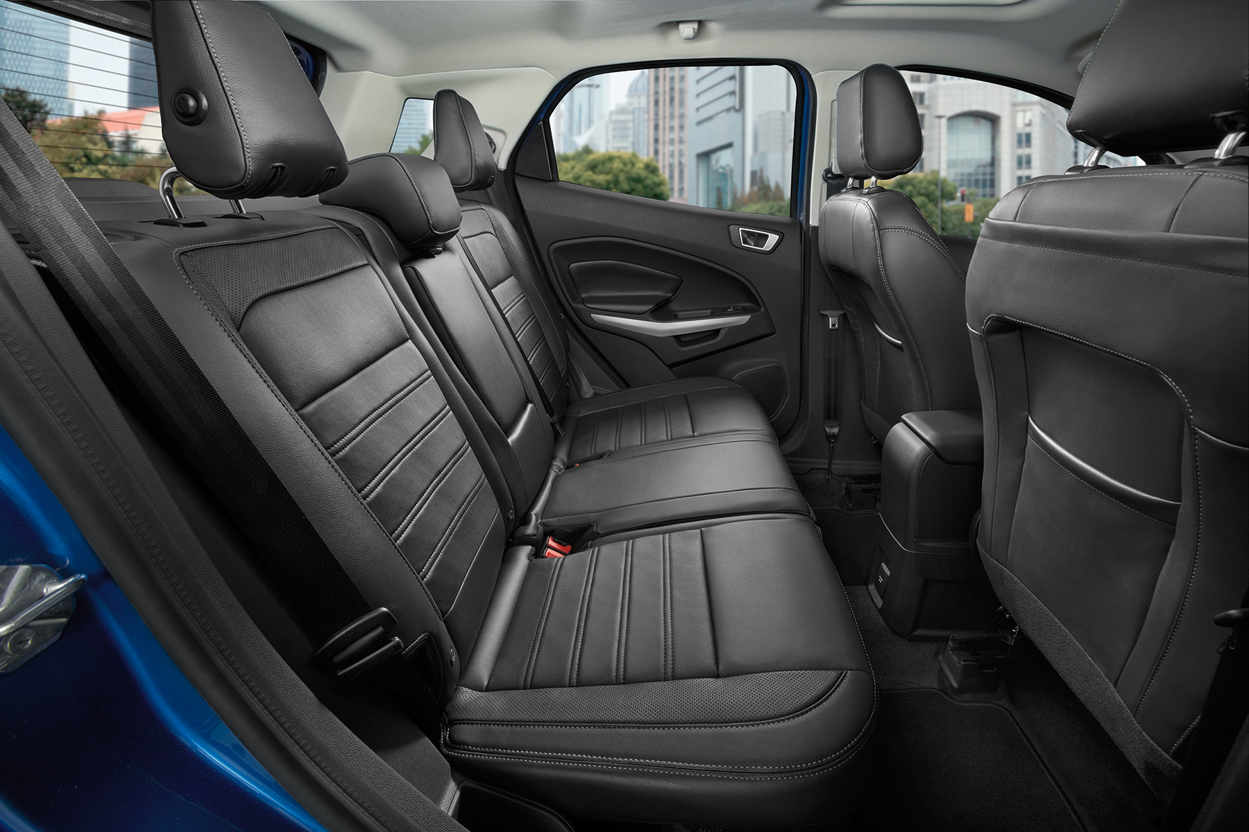 Ford Ecosport Interior White Ford EcoSport r...