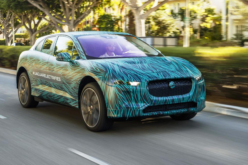 Jaguar I-Pace completes final testing in LA