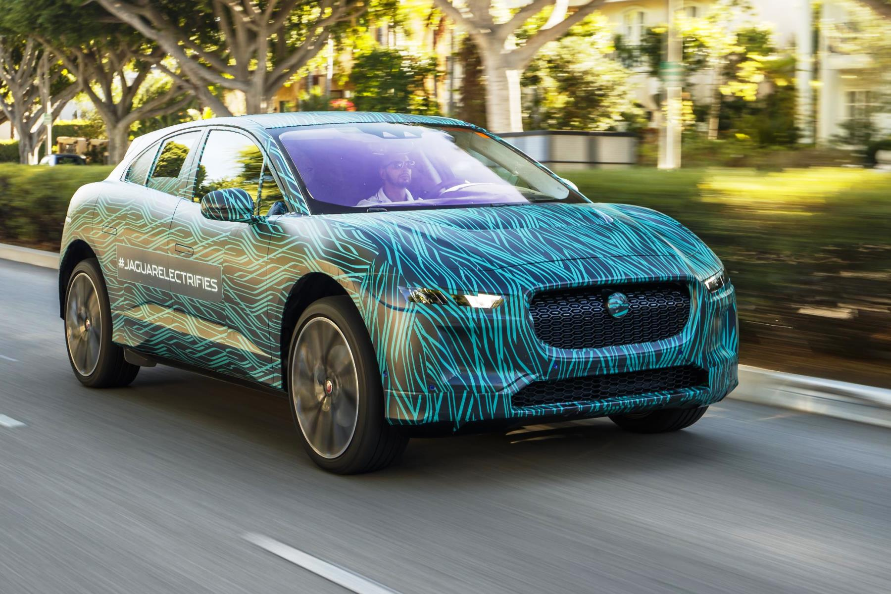 Jaguar's electric I-Pace SUV wraps pre-production testing in California