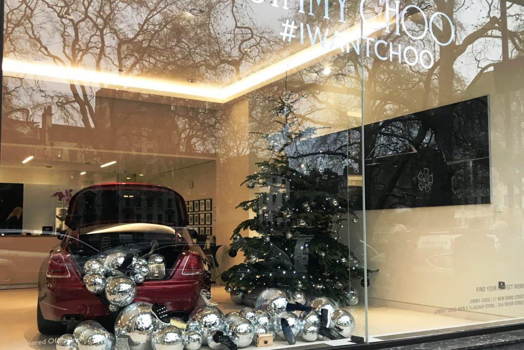 Rolls-Royce Motor Cars and Jimmy Choo shoes in London