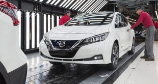 Second generation Nissan Leaf production begins in Sunderland