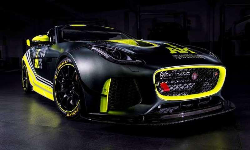 Invictus Games Racing Team - Jaguar F-Type