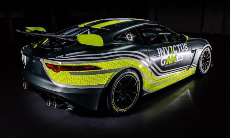 Jaguar F-Type GT racer