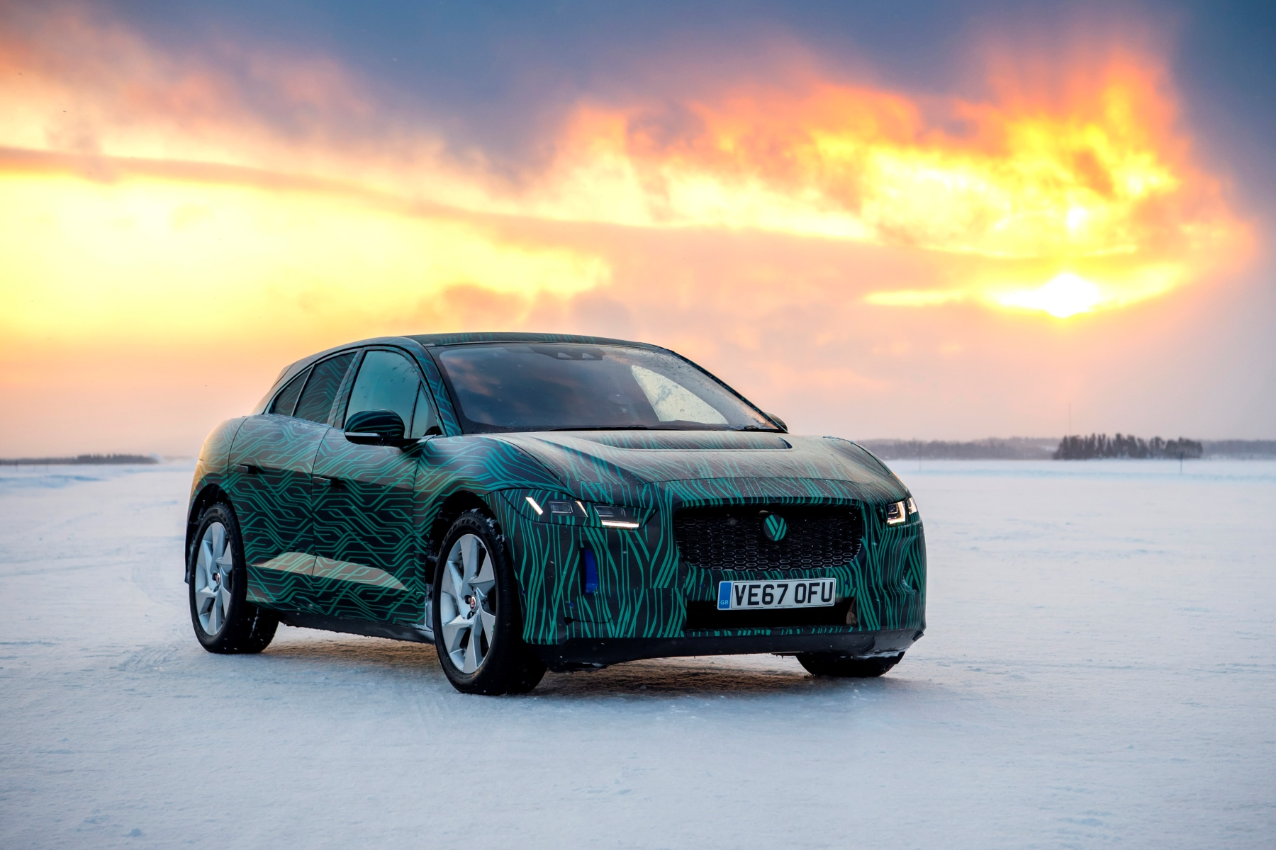 Ice cool I-Pace leads Jaguar's electric charge