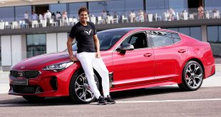 New Kia Stinger sets Rafael Nadal's heart racing