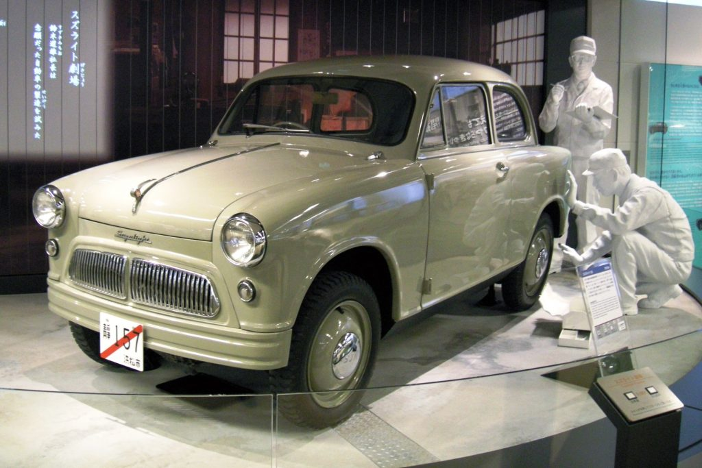 1955 Suzulight - Suzuki's very first car