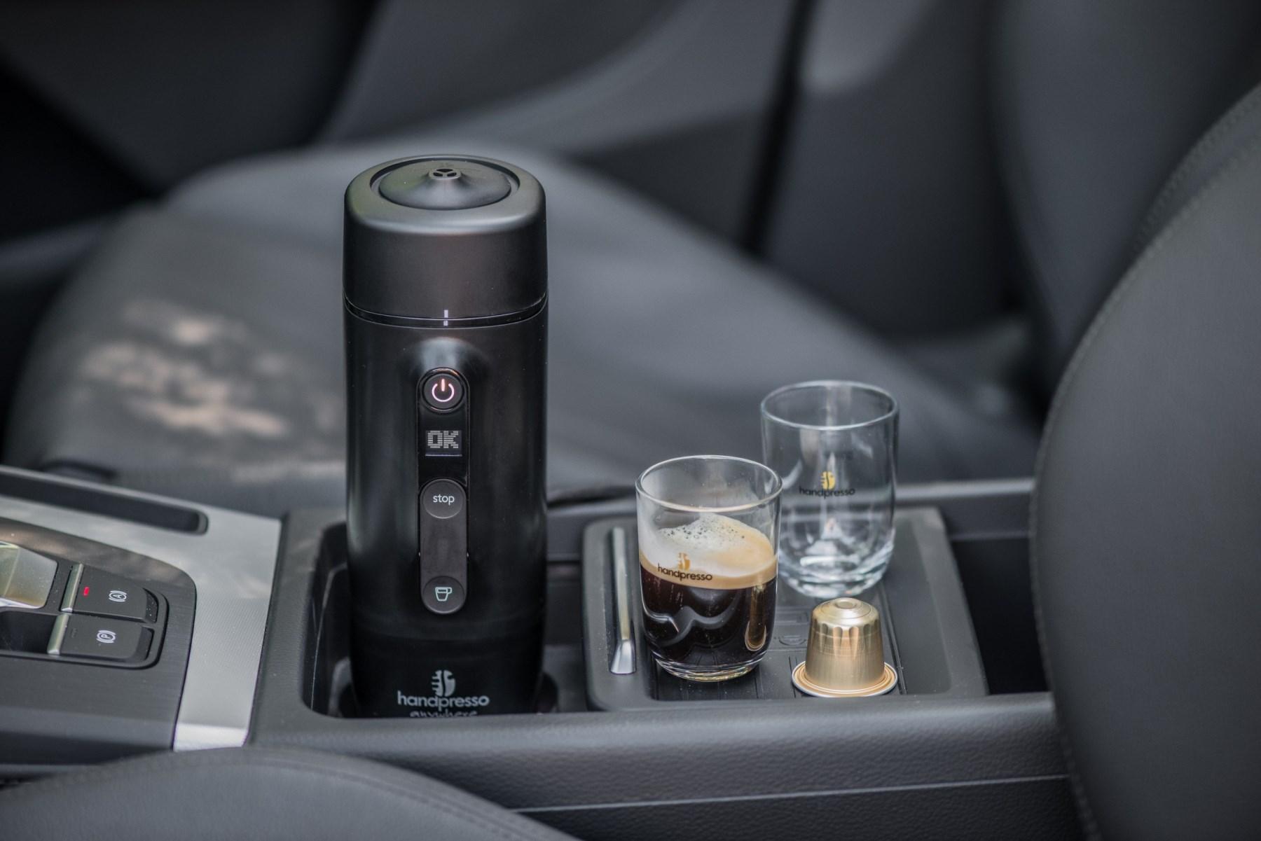 It S The In Car Espresso Coffee Machine Automotive Blog