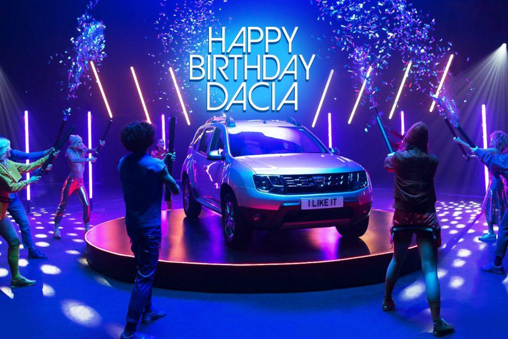 Happy Birthday Dacia! Celebrating five years in the UK