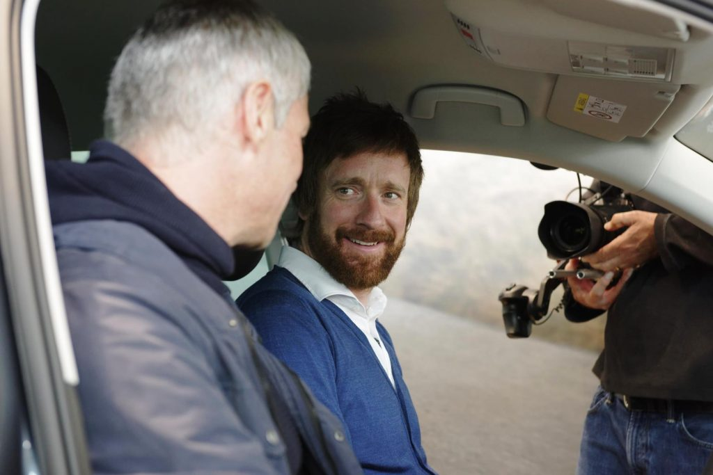 Sir Bradley Wiggins at Mitchell SKODA