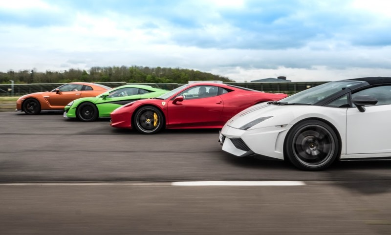 Track day supercar favourites