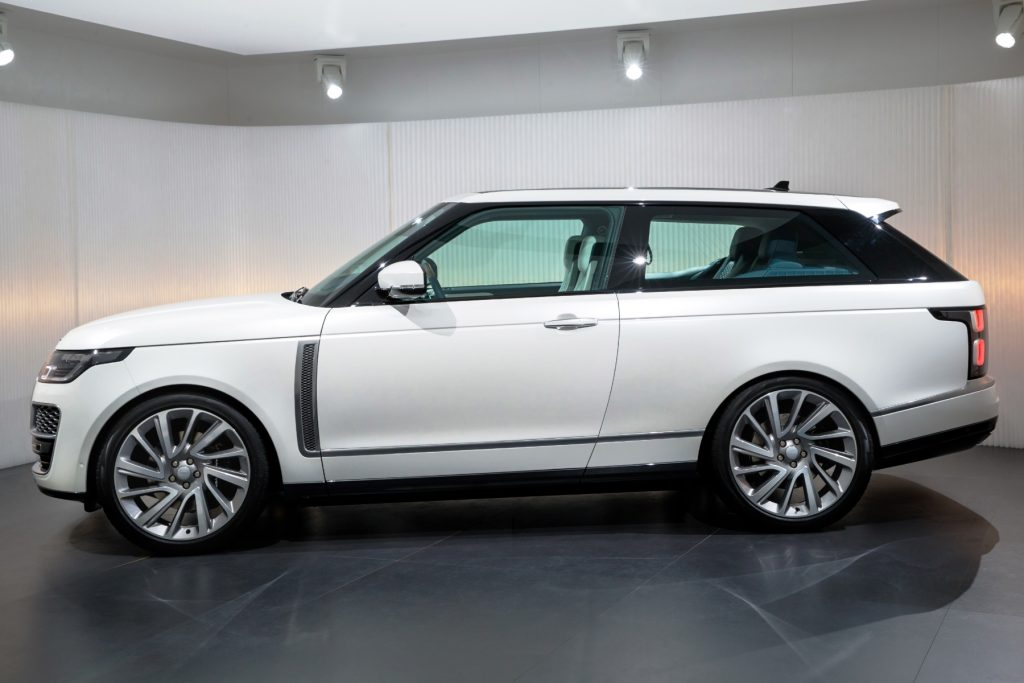 luxurious new range rover sv coup revealed automotive blog. Black Bedroom Furniture Sets. Home Design Ideas