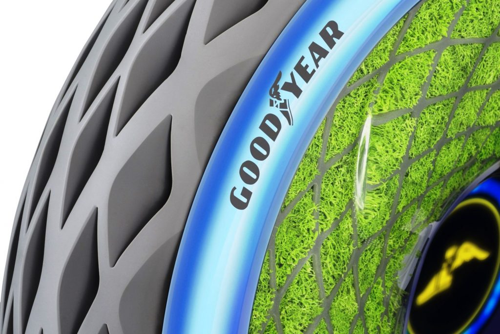 Goodyear Oxygene tyre concept