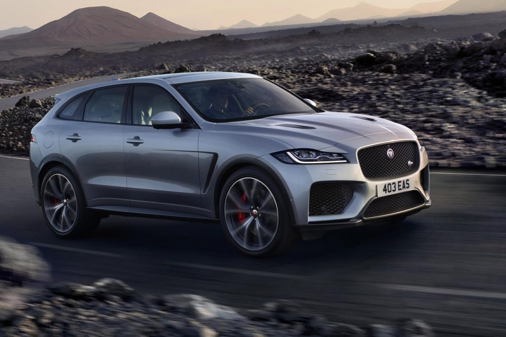 jaguar unleashes 176mph f pace svr automotive blog. Black Bedroom Furniture Sets. Home Design Ideas