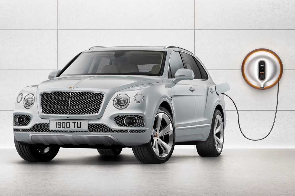 World's first luxury hybrid model, the Bentayga Hybrid