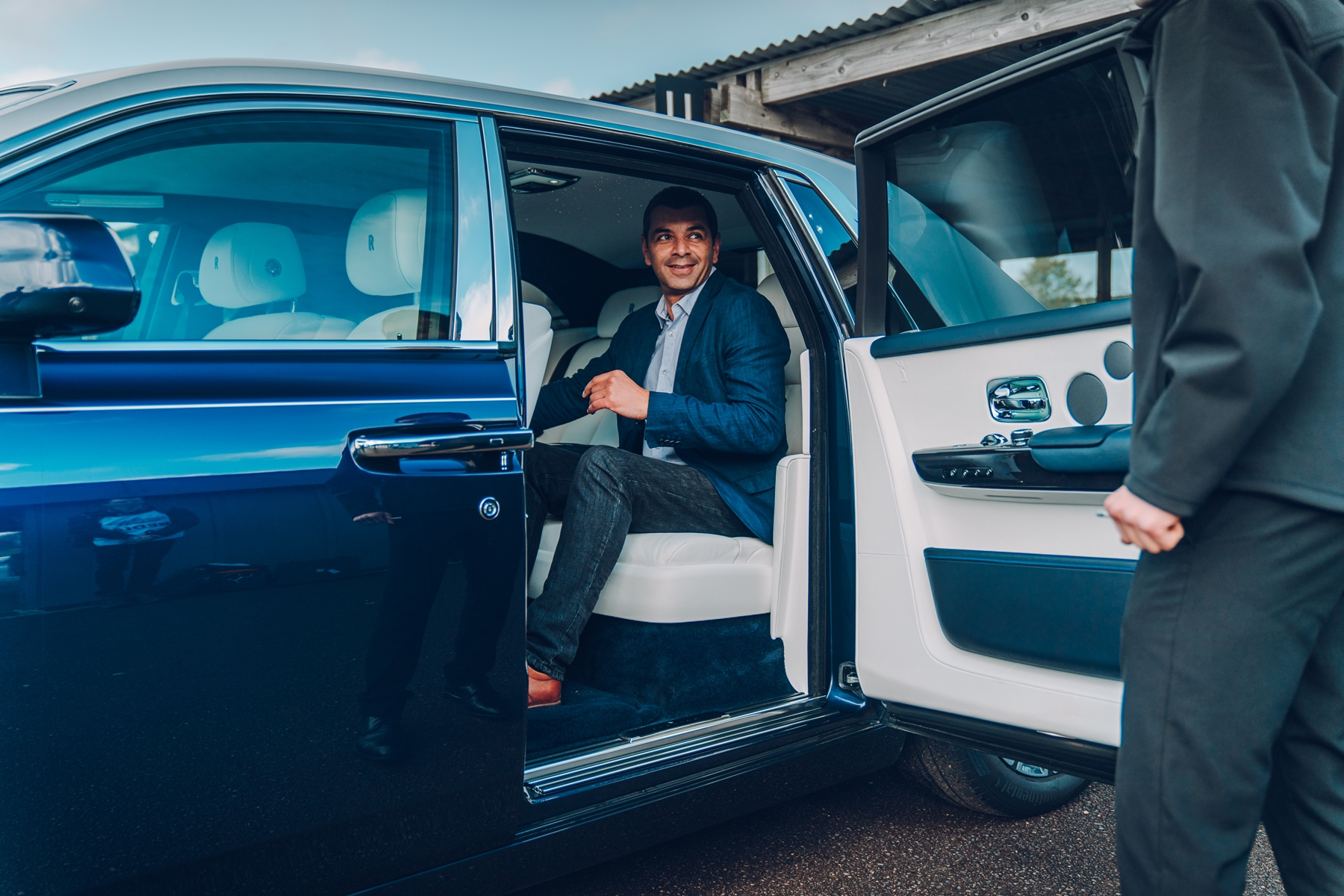 Gareth Herincx at Goodwood Media Drive Day 2018 - Mark Riccioni-Rolls-Royce