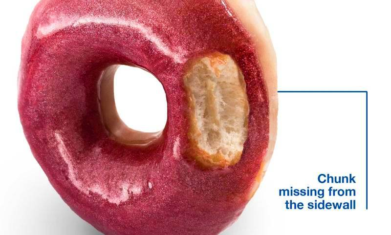 Goodyear donut campaign