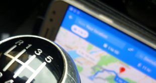 Mobile phone used as a sat nav