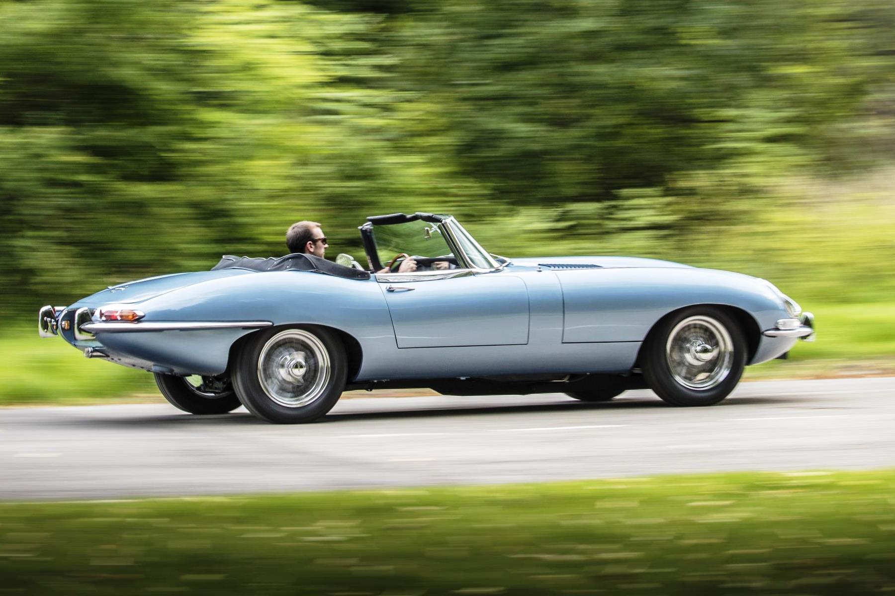 Prince Harry's Jaguar E-Type Zero