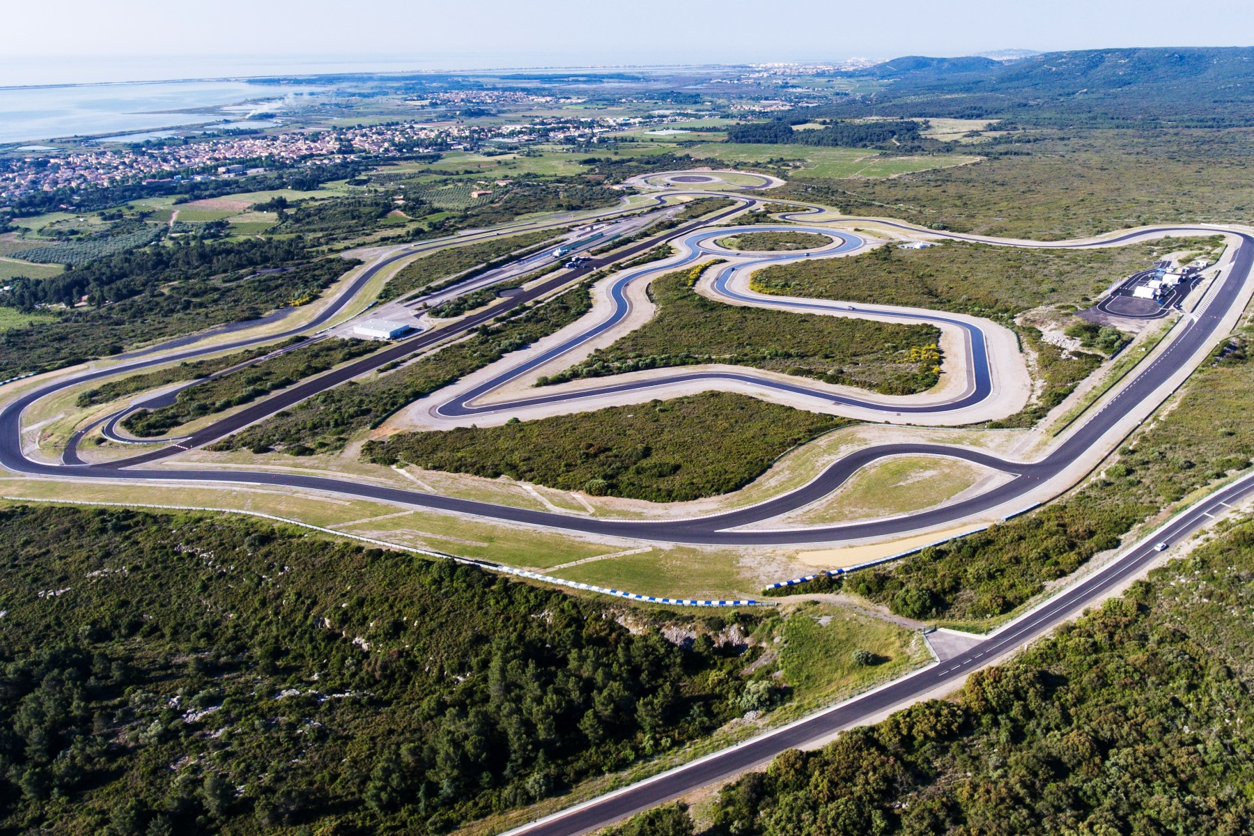 Goodyear's Mireval test circuit, France