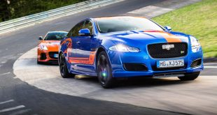Jaguar Race Taxi - XJR55 and F-Type SVR