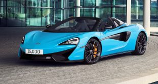 McLaren Automotive 15000th car - 570S Spider