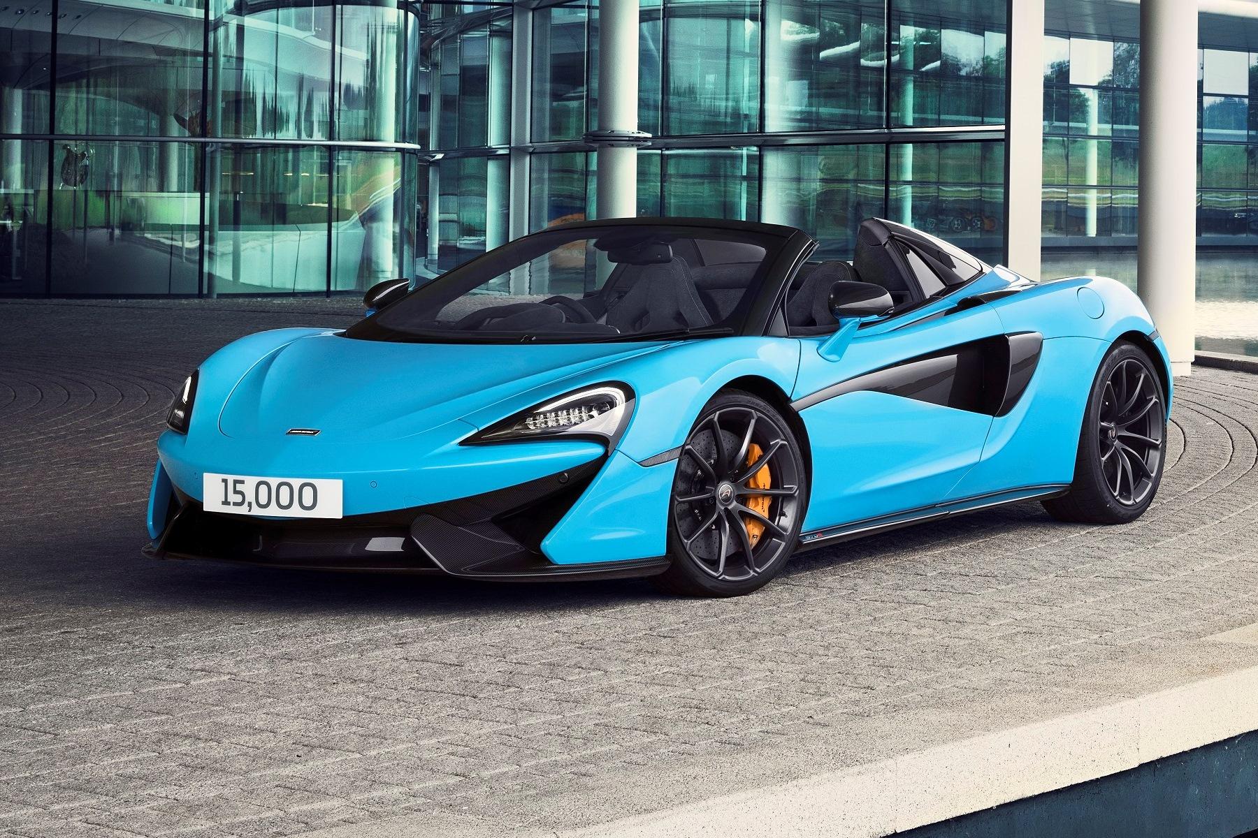 McLaren Automotive 15000th car - 570S Spider