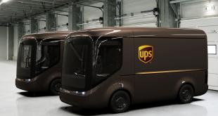 UPS electric vans
