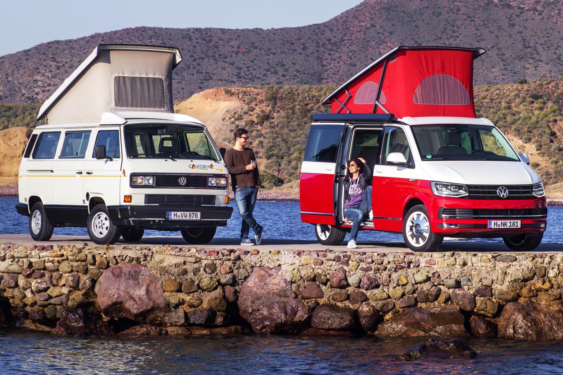 Volkswagen California camper van 100,000 celebration