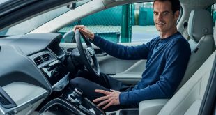 Andy Murray and his all-electric Jaguar I-Pace
