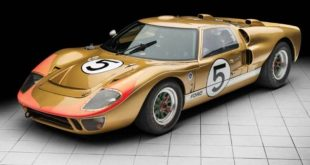 Historic Le Mans Ford GT40