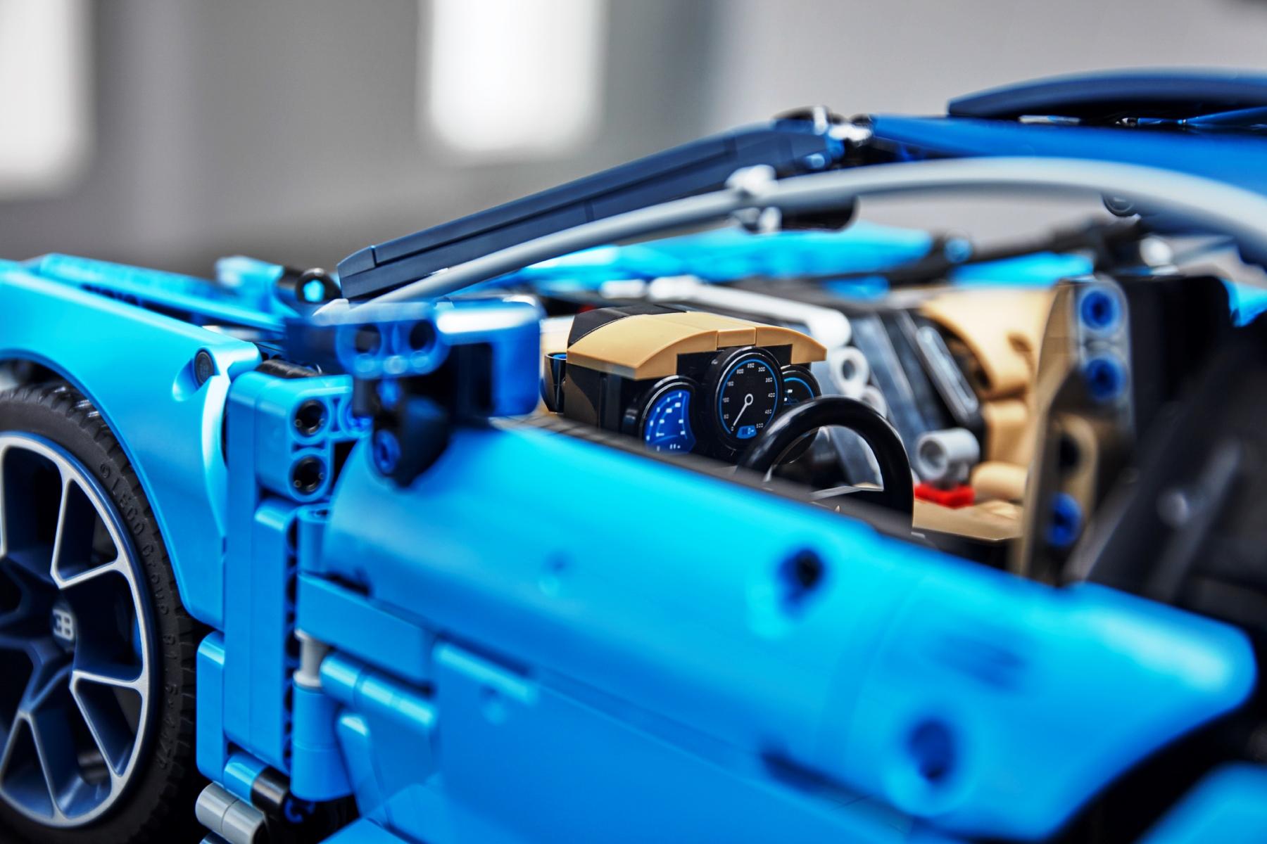 LEGO Technic Bugatti Chiron interior