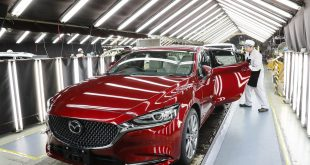 Mazda production line in Japan