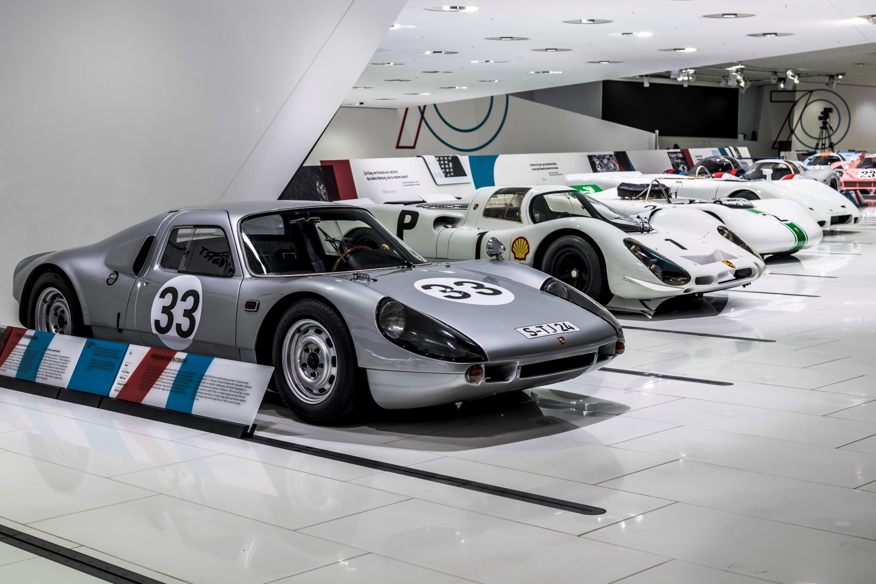 Porsche 70th birthday exhibition