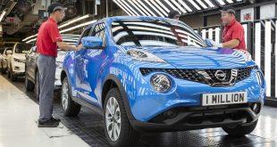 One millionth Juke built at Nissan Sunderland Plant