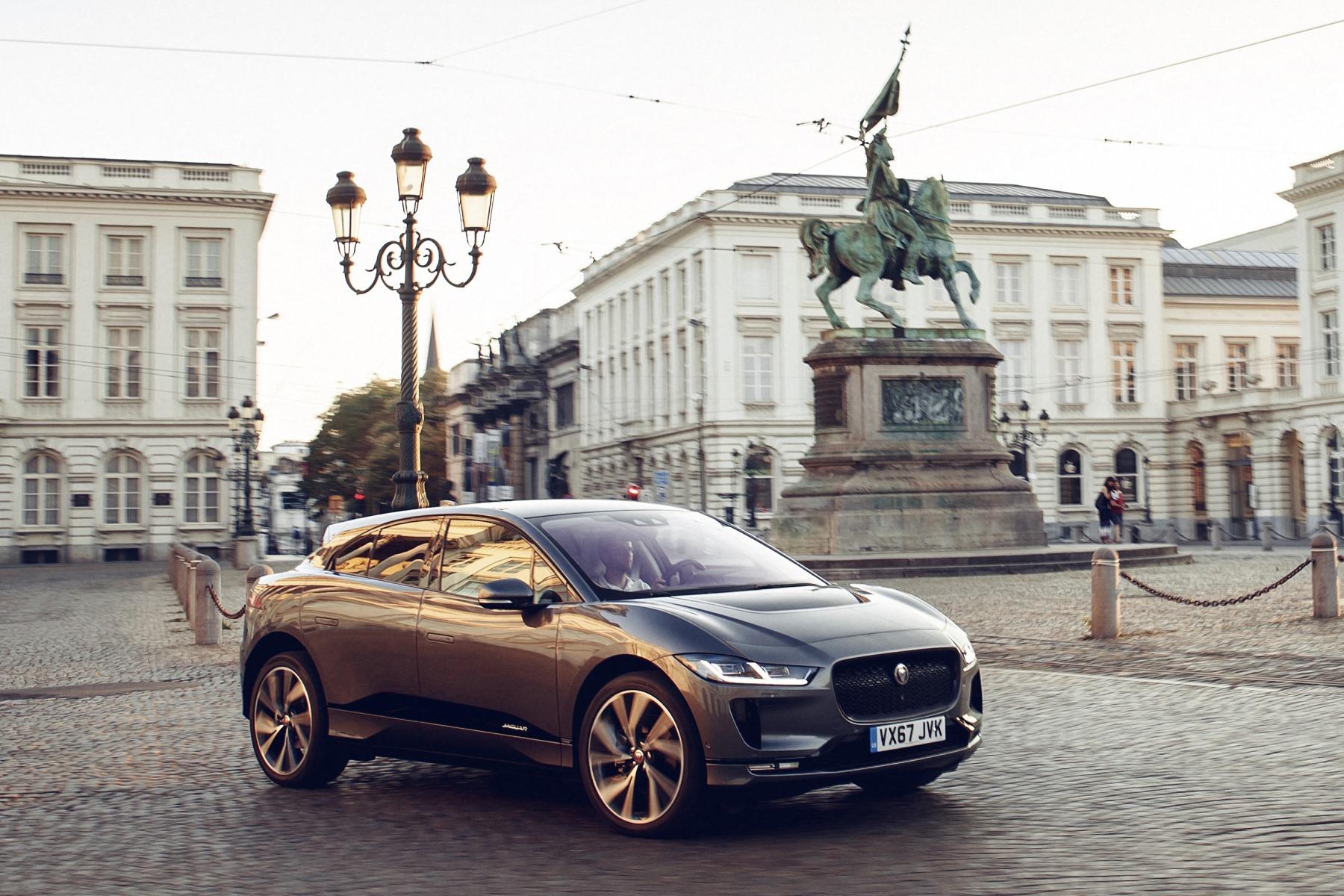 Jaguar I-Pace in Brussels