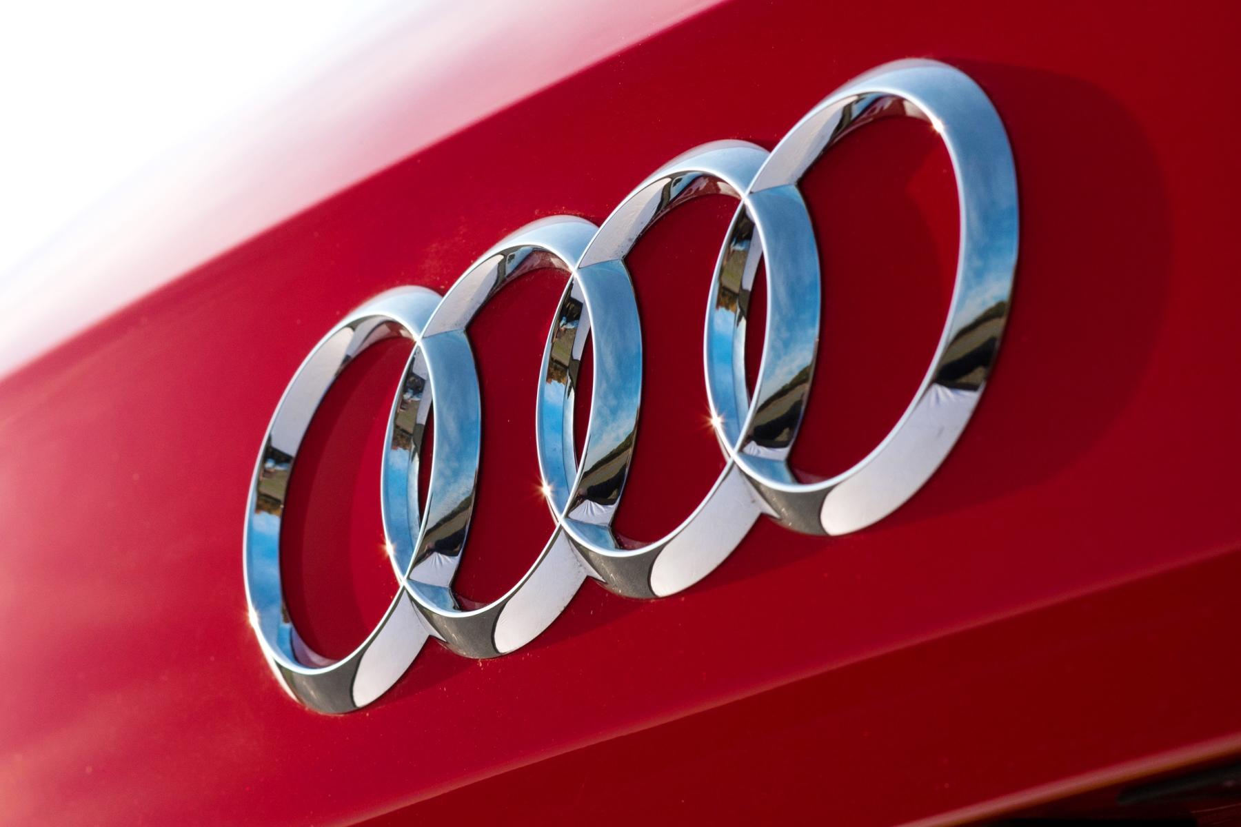 Audi four rings logo