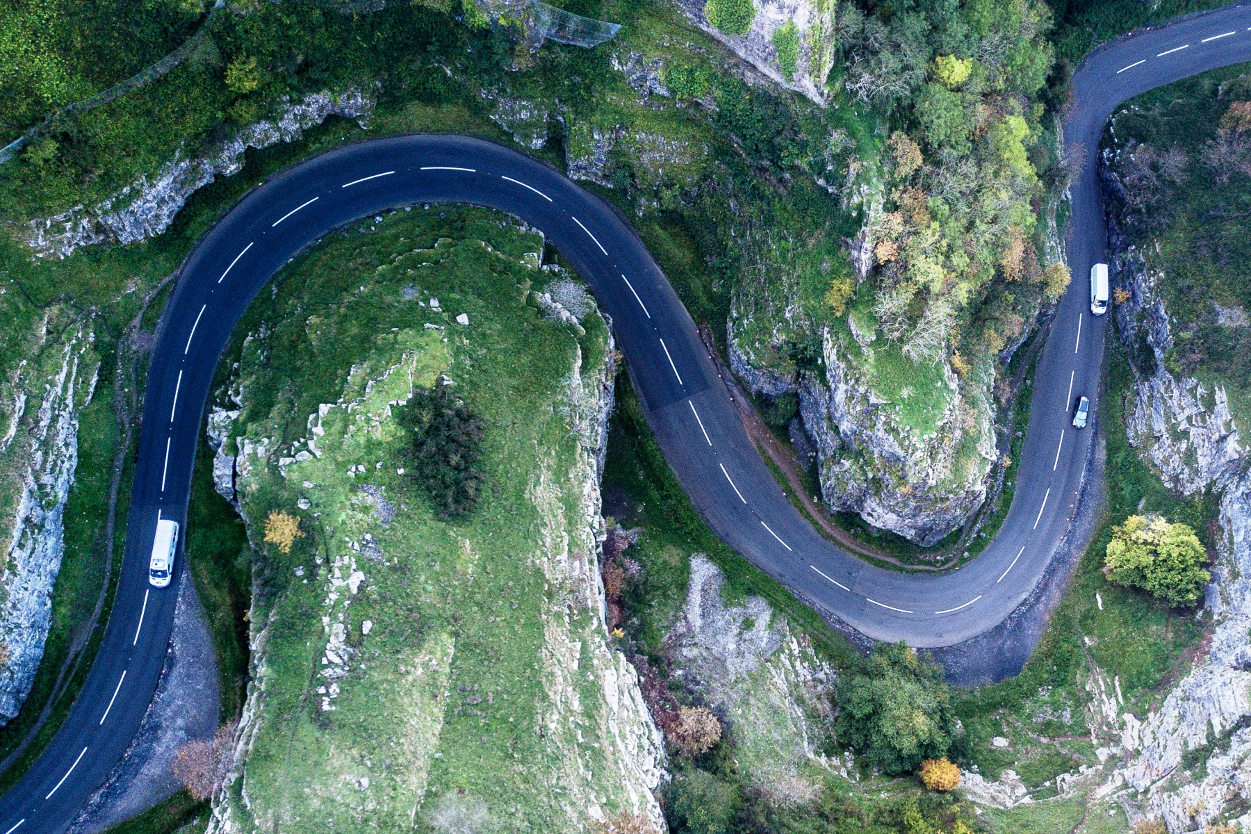 Best driving road - Cheddar Gorge