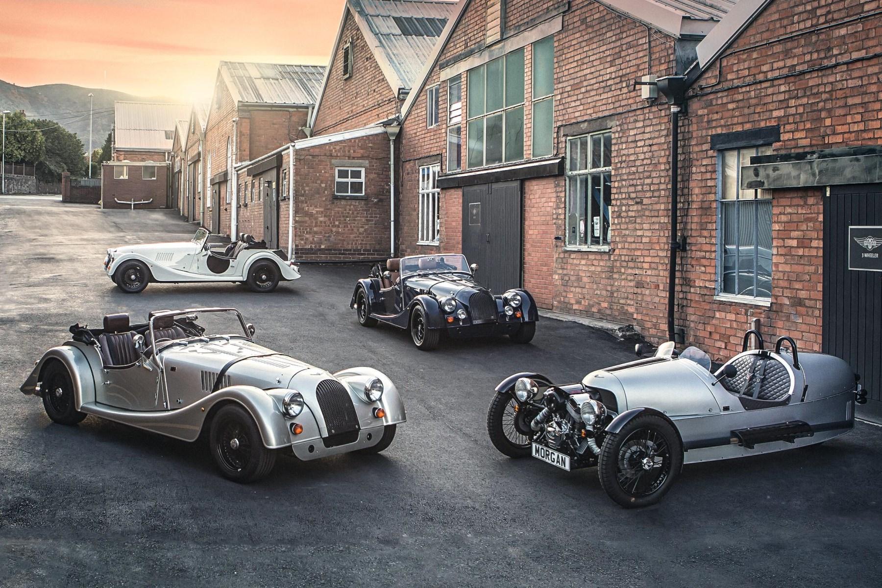 Morgan's 110th anniversary range of cars