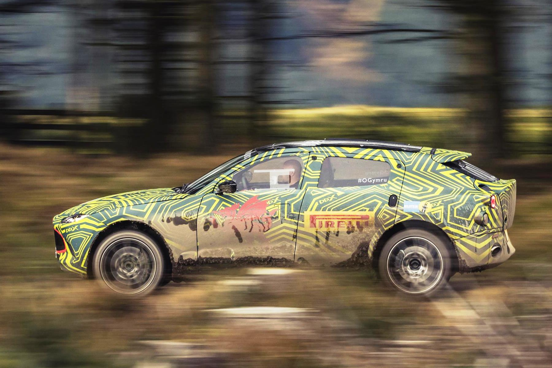Aston Martin S New Dbx Suv Breaks Cover In Wales Automotive Blog