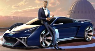 Audi's animated concept car