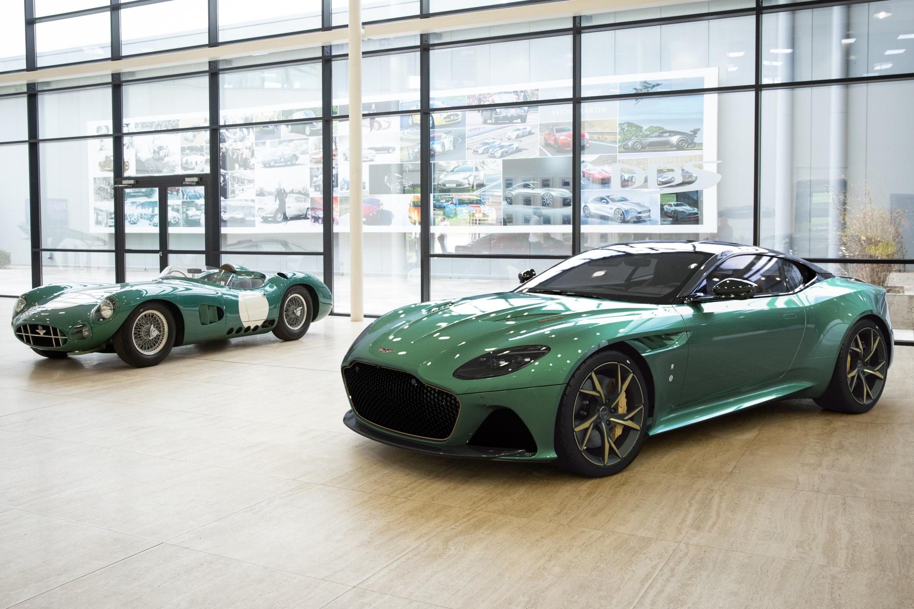 Limited edition Aston Martin DBS 59 celebrates historic DBR1 Le Mans win