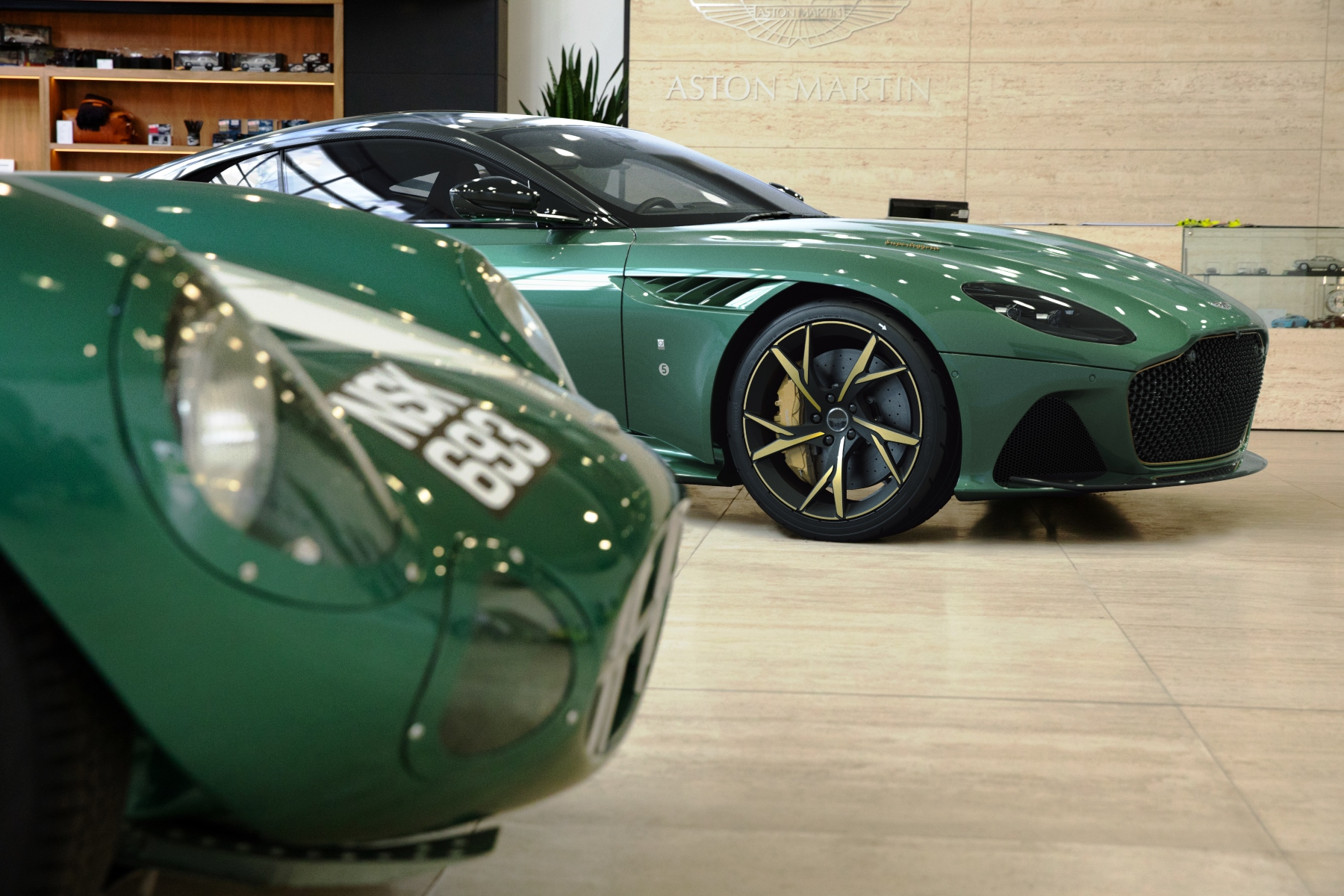 Aston Martin Dbs 59 Celebrates Historic Le Mans Win