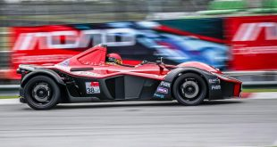 BAC Mono sets the fastest ever lap for a production car at the Sepang circuit, Malaysia